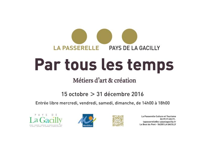 """Exposition """"Par tous les temps"""" à la Passerelle, Centre Culturel de La Gacilly"""