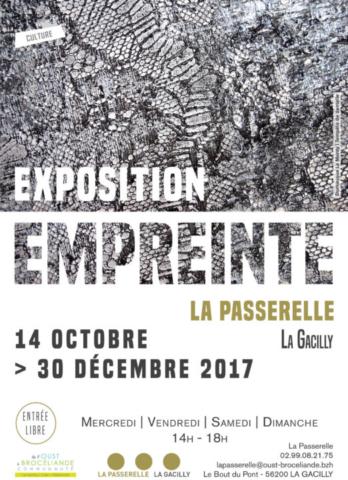 """Exposition """"Empreinte"""" à la Passerelle, Centre Culturel de La Gacilly"""