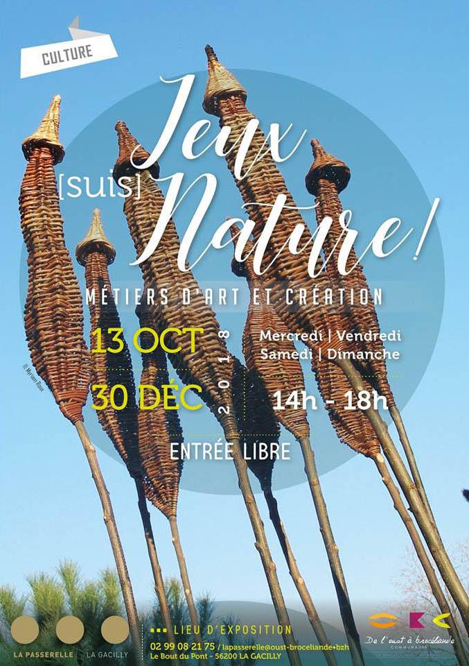 """Exposition """"Jeux [suis] Nature"""" à la Passerelle, Centre Culturel de La Gacilly"""