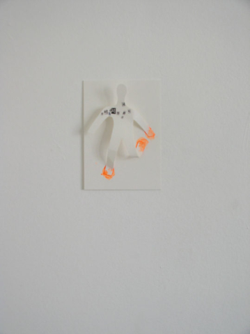 Installation en papier & collage