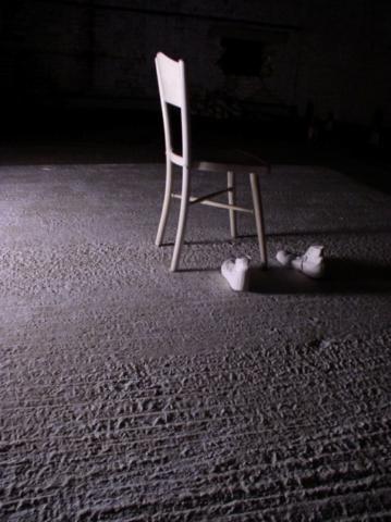 Installation lors de l'exposition « Spring Show » du collectif Area 10 à Londres en 2005